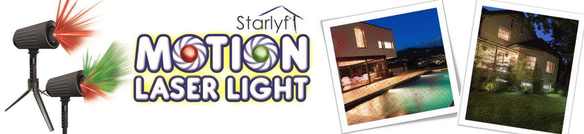 Starlyf Motion Laser Light