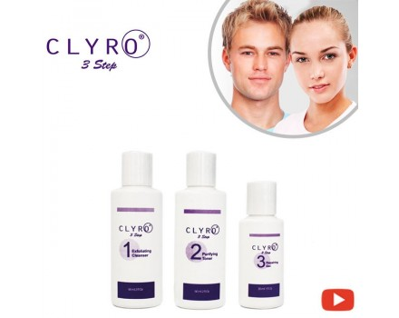 Clyro - 3 Step skincare set