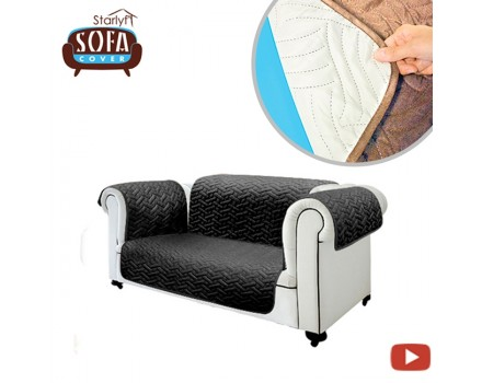 Starlyf Sofa Cover - Reversible sofa cover