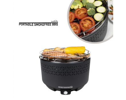 Portable Smokefree BBQ - Smokeless charcoal barbecue