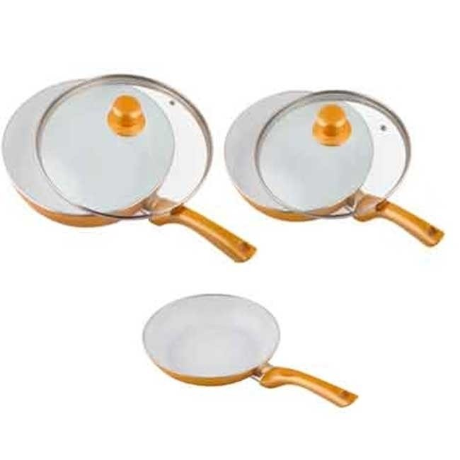 Professional Chef Gold Collection Ceramic Frying Pan