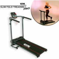 Gymform Slim Fold Treadmill PRO VERSION - Foldable & Compact Treadmill