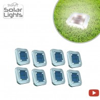 Starlyf Solar Lights Set of 8 - Led Lights