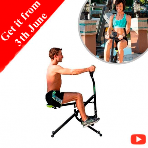 Gymform Ab Booster Plus - All-in-one fitness device