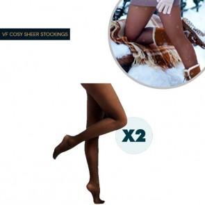 Cosy Sheer - Leggings 2x1