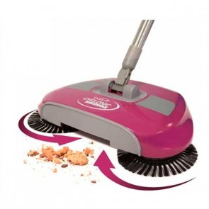 Starlyf Cyclonic Broom 2x1 - Sweeping and spinning vacuum