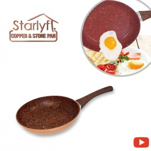 Starlyf Copper & Stone Pan - Frying pans