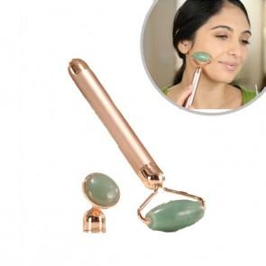 Velform Jade Roller - Vibrating Facial Roller & Massager