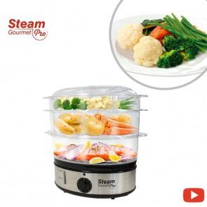 Steam Gourmet Pro - Electric steamer