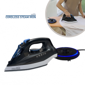 Cordless Steam Iron - Lightweight & Portable Iron