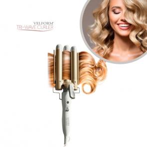 Tri-Wave Curler - Salon quality hair curler