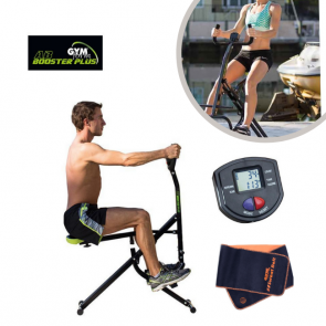 Gymform Ab Booster Plus + Computer + Free Sweat Belt - All-in-one fitness machine
