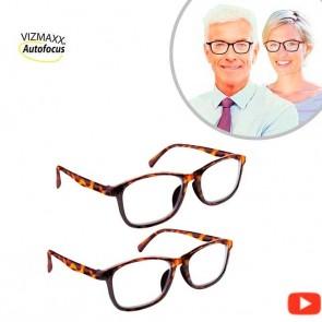 Vizmaxx Autofocus 2x1 - Reading glasses