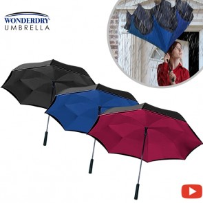 Wonderdry Umbrella - Inverted umbrella