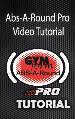 Gymform Abs A Round Pro Original Product
