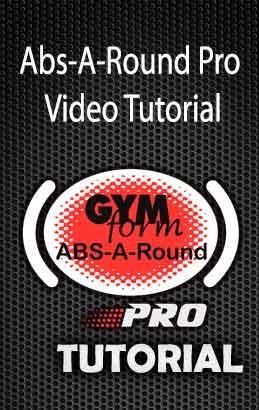 Gymform Abs A Round Pro Original Product