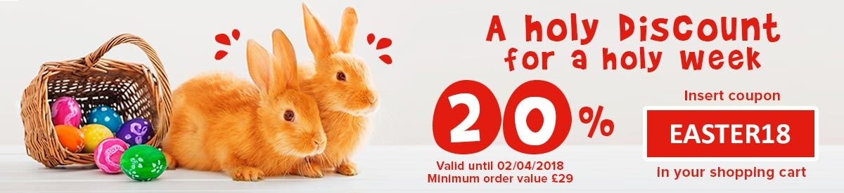 Easter Week Promotion