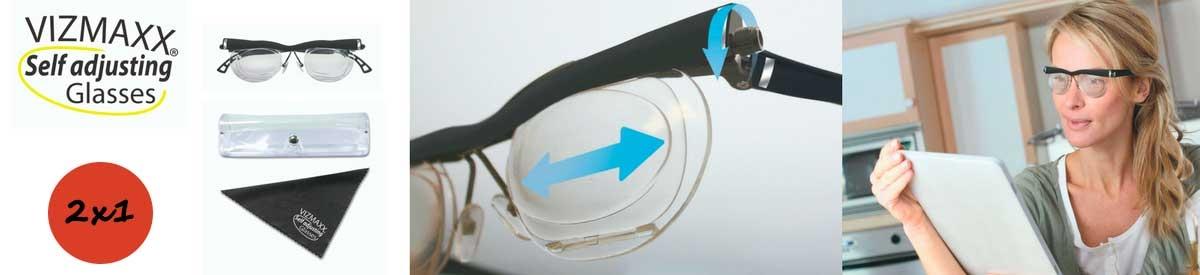 Vizmaxx Adjusting Glasses